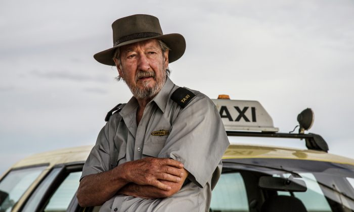 "Michael Caton as Rex in ""Last Cab to Darwin,"" a drama/comedy about a 70-year-old taxi driver with terminal cancer who drives across the Australian outback to Darwin seeking to die on his own terms. (Courtesy of TIFF)"