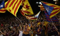 Sports, Politics Mix in Barcelona in Catalonia Secession Bid