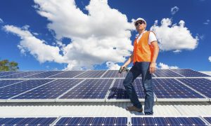 Coating Keeps Solar Cells Cool in Hot Sun