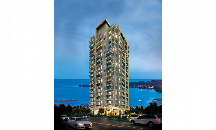 Rendering of San Francisco By The Bay, a condo and townhouse development at Bayly St & Liverpool Rd. in Pickering, Ont. The development has a total of 235 units. (Courtesy of In2ition)