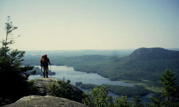 Jeff Alt the Appalachian Trail in Maine. (Courtesy of Jeff Alt)