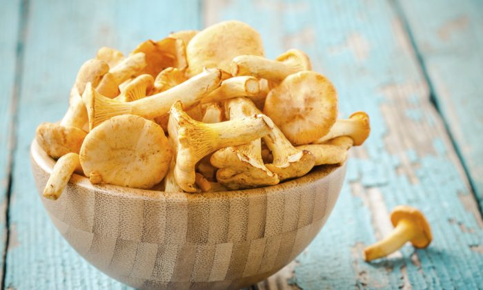 Organic fresh chanterelle mushrooms (wmaster890/iStock)