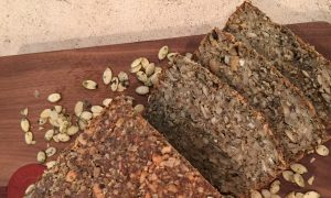 Sweet Super-Seed Bread: Vegan, Gluten-Free, Addicting