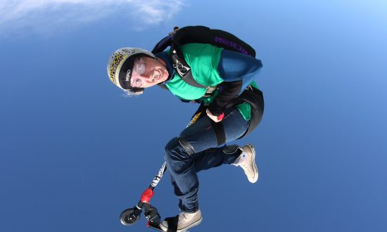 Extreme Sports Star Killed in California Skydiving Accident