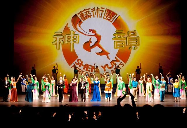 Curtain call at Shen Yun Performing Arts' final performance