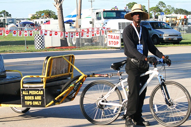 Why walk when you can ride? Mr. Melvin Clermont will gladly transport you in comfort and style.
