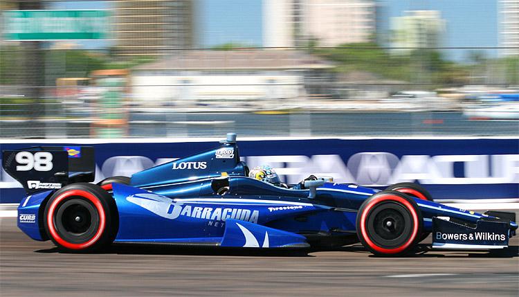 Alex Tagliani, driving for Brian Herta Autosport, has not had a satisfying season so far. (James Fish/The Epoch Times)