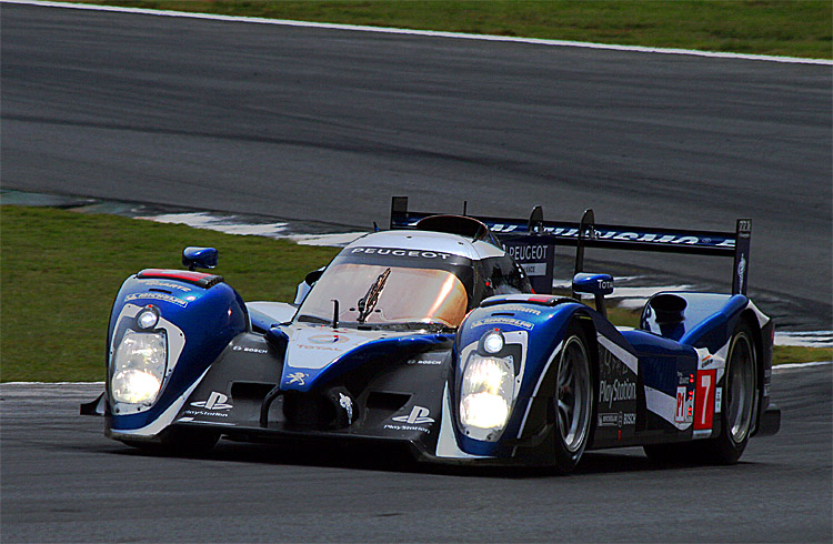 Despite a remarkable winning record, the Peugeot 908 will not return to the world's race tracks in 2012; Peugeot has cancelled the program. (James Fish/The Epoch Times)