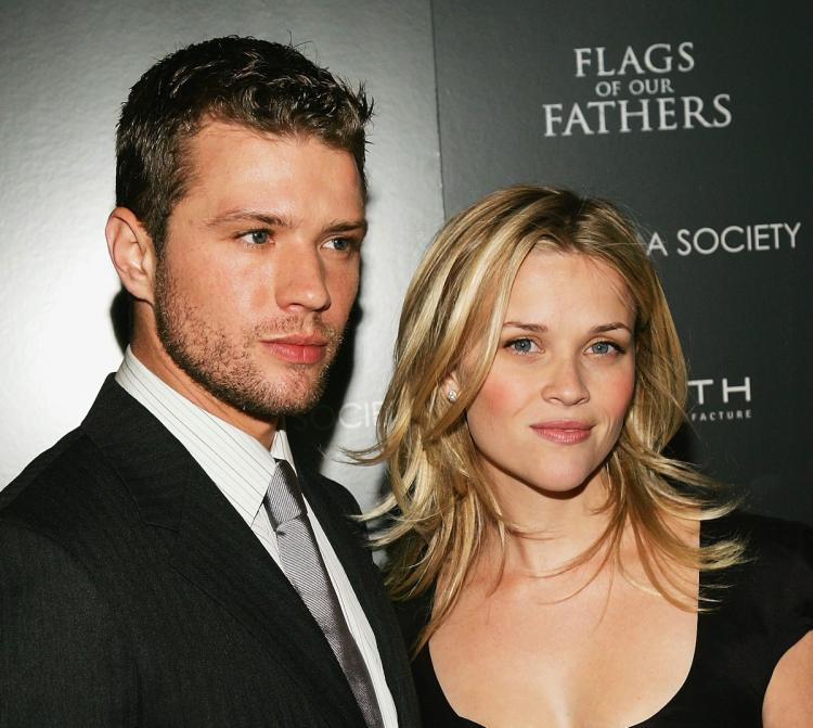Ryan Phillippe, said he is happy for his ex-wife Reese Witherspoon, after hearing about her engagement to Hollywood agent, Jim Toth.  (Evan Agostini/Getty Images)