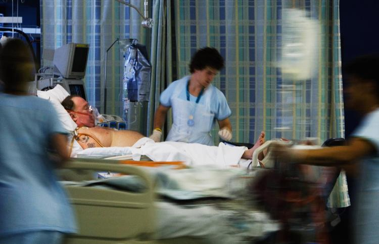 Stroke symptoms are on the rise in young and middle-aged Americans. (Ian Waldie/Getty Images)