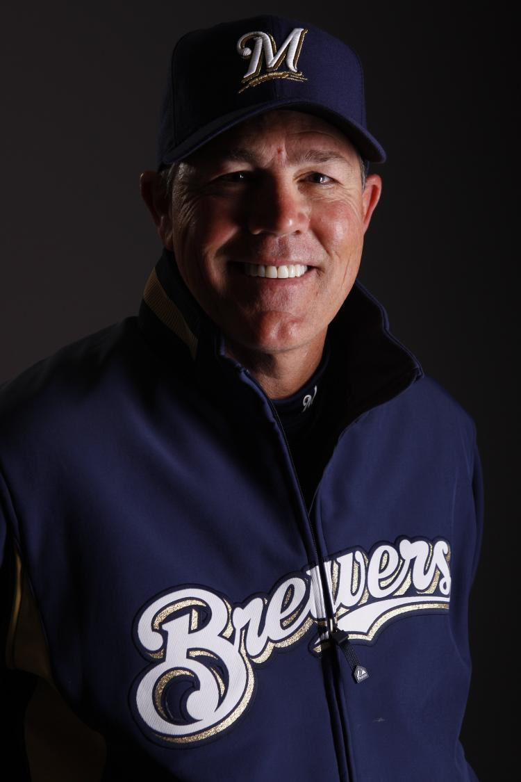 Ned Yost poses for a photo during the Milwaukee Brewers Spring Training Photo Day. Ned Yost has been appointed as the manger of the Kansas City Royals after the departure of Trey Hillman.  (Chris Graythen/Getty Images)