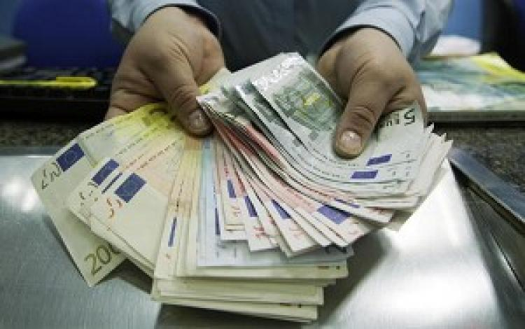 Since October of this year, the Euro to U.S. dollar exchange rate has declined sharply. (AFP/Getty Images)