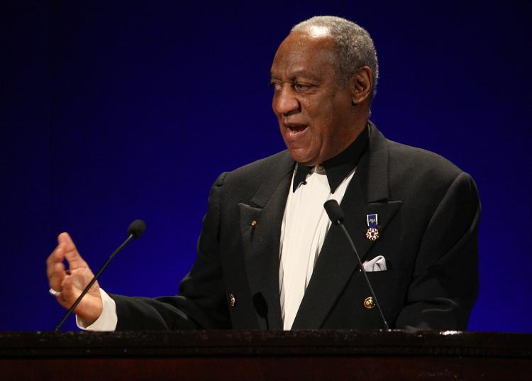 Host Bill Cosby speaks onstage during the Jackie Robinson Foundation Annual Awards Dinner Chaired in New York City. Bill Cosby and Jello, the gelatin snack, are set to do another ad campaign ten years after Cosby's famous work with the company.  (Bryan Bedder/Getty Images for The Jackie Robinson Foundation)