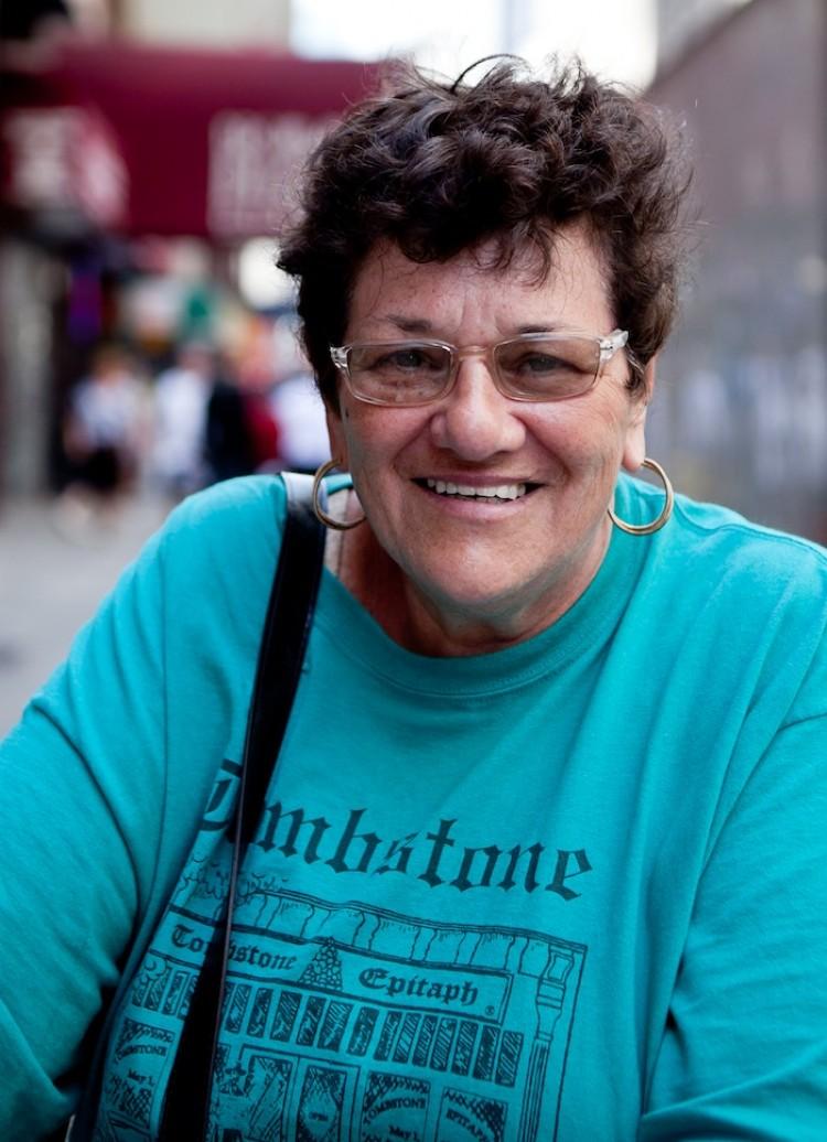 Barbara, Retired, Manhattan (Zack Stieber/The Epoch Times)