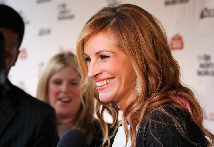 Actress Julia Roberts attends an event in New York City on April 27, 2009. (Mark Von Holden/Getty Images)