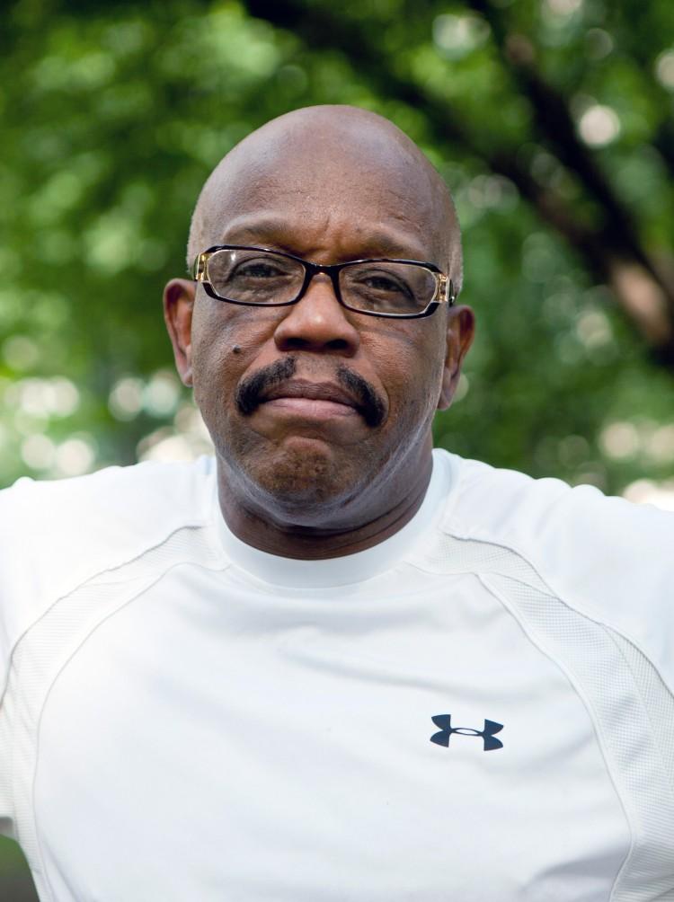 Charles, 50, Retired Government Worker, Manhattan (Zack Stieber/The Epoch Times)