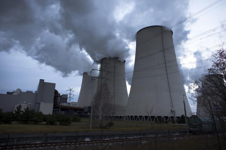 The crystals can withstand the hot, wet environments of power station flues which currently use carbon capture technology based around toxic chemicals. And which can require up to 40 per cent of the power generated by the station to successfully capture CO2. (Carsten Koall/Getty Images)