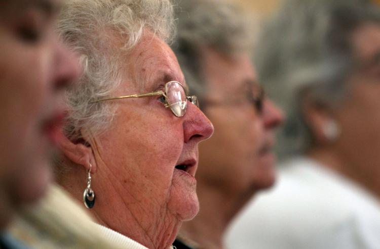 A new study reveals that almost two-thirds of seniors over the age of 65 are taking five or more prescription drugs. (Matt Cardy/Getty Images)