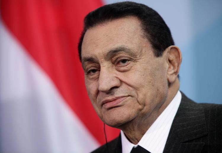 Hosni Mubarak, former president of Egypt (Sean Gallup/Getty Images)