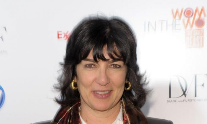 Correspondent Christiane Amanpour attends the 'Women In The World: Stories and Solutions' global summit at Hudson Theatre in New York City on March 12, 2010. (Michael Loccisano/Getty Images)