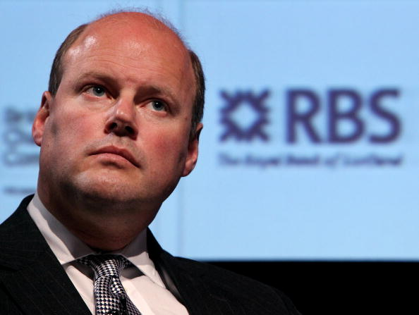 Stephen Hester, the CEO of RBS, waits to speak at the British Chamber of Commerce Annual Conference held at the headquarters of BAFTA on March 18, 2010 in London, England. (Oli Scarff/Getty Images)