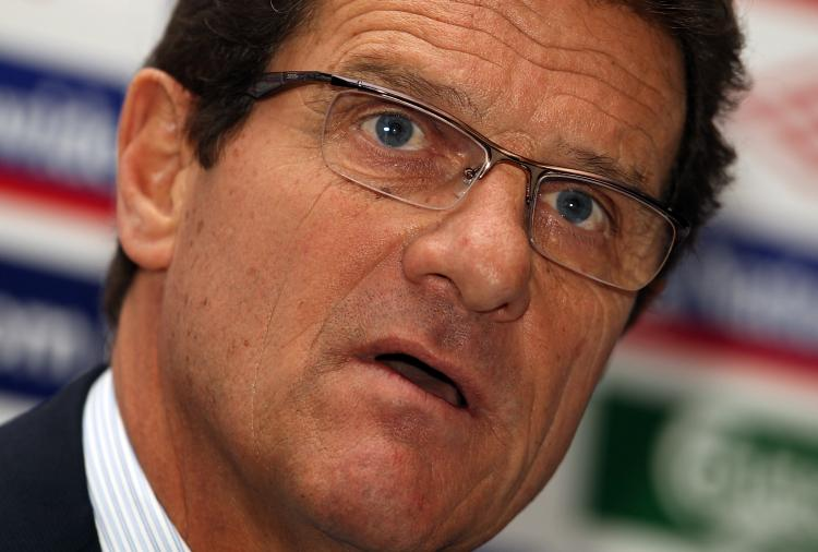 WEMBLEY: England coach Fabio Capello announces the England 2010 World Cup Squad (Julian Finney/Getty Images)
