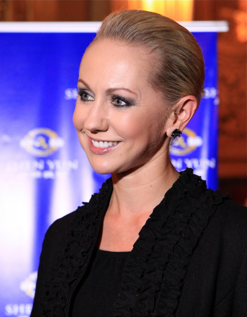 TV Producer Laurenna Toulmin at Shen Yun
