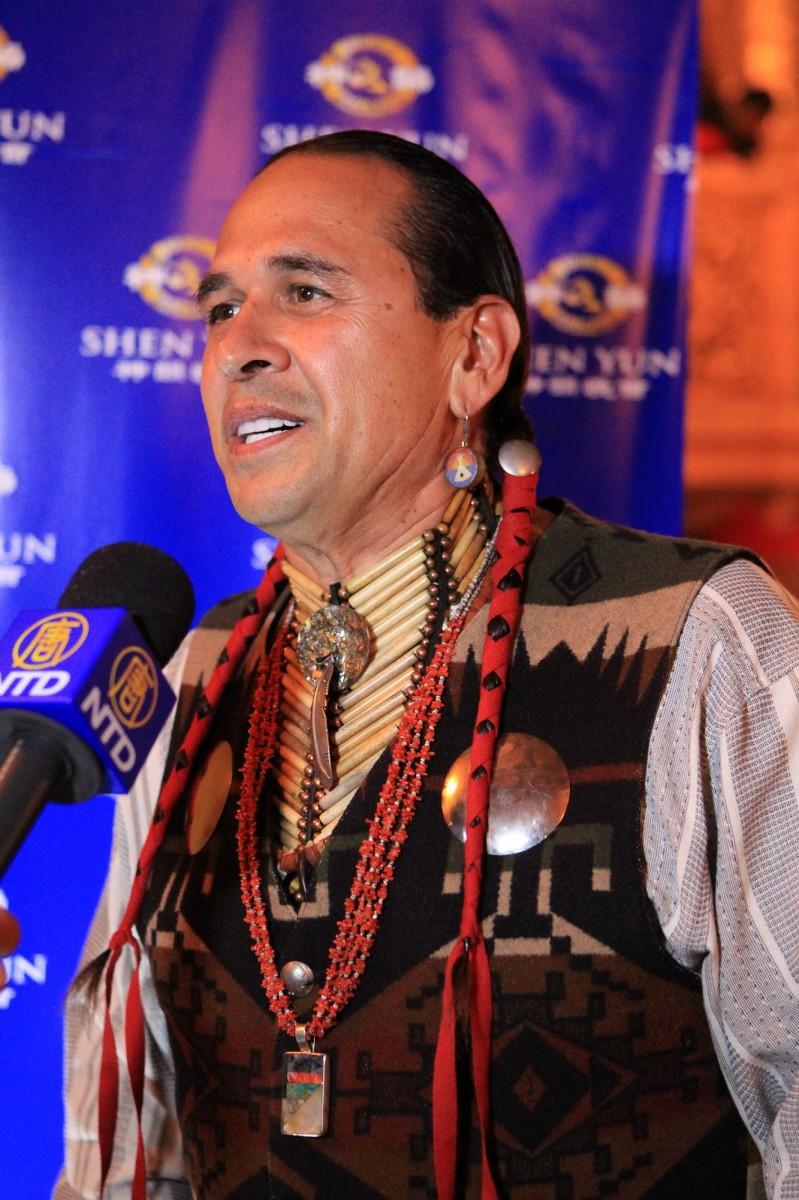 Lakota John shares his Shen Yun experience