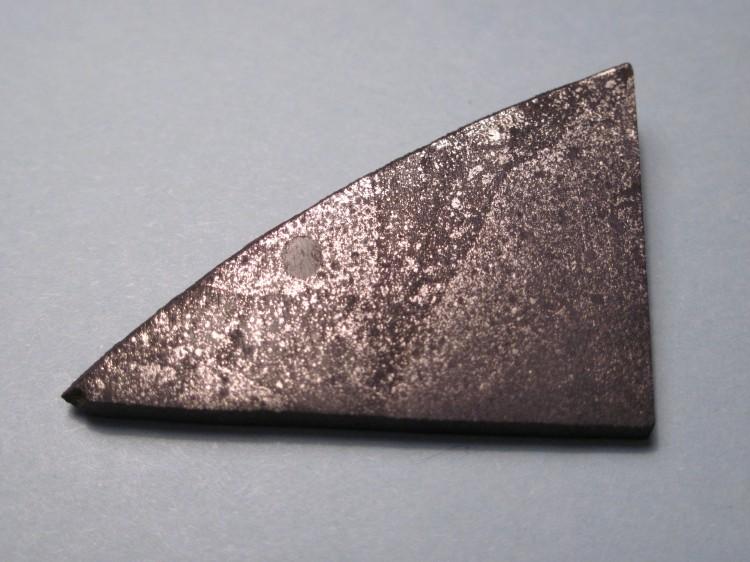 A meteorite containing chondrules. (Jon Taylor/Wikimedia Commons)