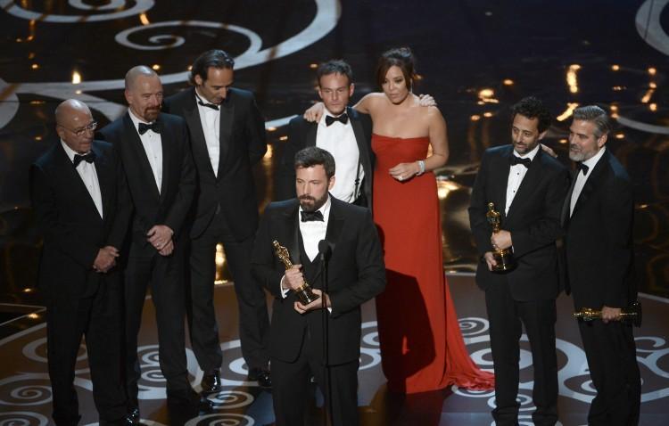 Affleck Oscars 85th Annual Academy Awards - Show