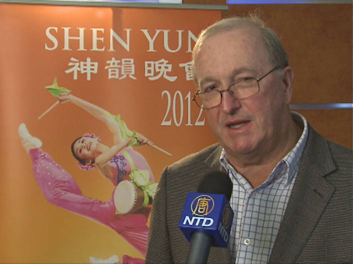 Alan Lawrenson talks about his Shen Yun Performing Arts experience