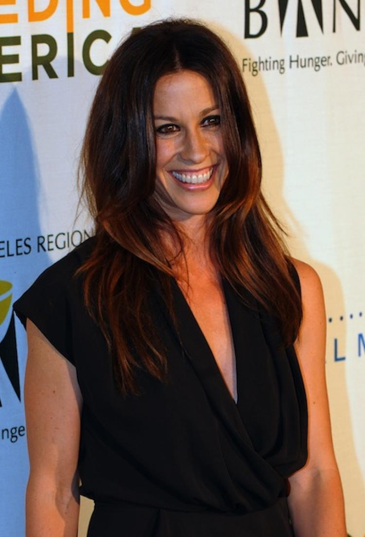 Grammy Award winning singer/song writer Alanis Morissette recently announced that she is married to rapper Souleye, the stage name of Mario Treadway. (Mark Ralston/Getty Images)