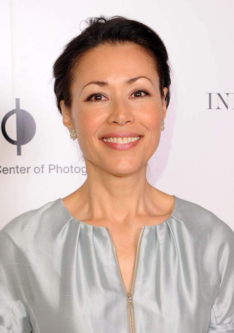 TV personality/journalist Ann Curry known for her longstanding role as an anchor on NBC's The Today show,' had a little bit of a mix up at a recent speech at Wheaton College in Massachusetts on Tuesday.  (Stephen Lovekin/Getty Images)