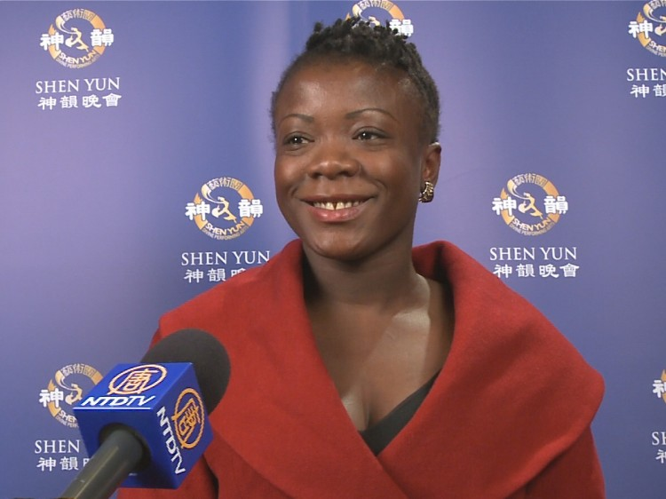 Anoma Langa talks about her Shen Yun experience
