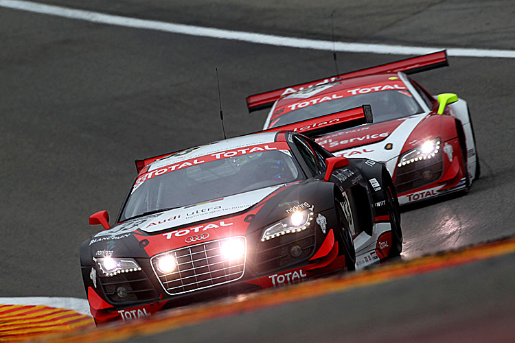 WRT will race 2012 Audi R8 LMS Ultras, the latest model from Quattro GmbH. (Audi Motorsports)