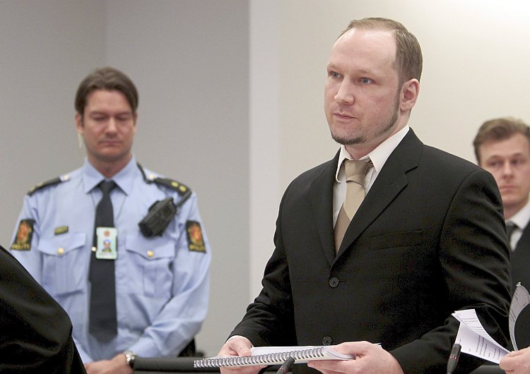Right-wing extremist Anders Behring Breivik
