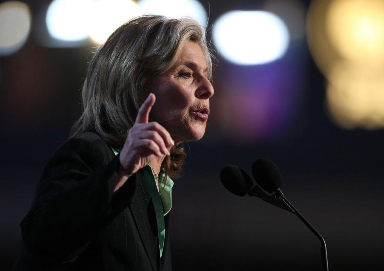 U.S. Sen. Barbara Boxer (D-Calif.) could find herself running against political star Arnold Schwarzenegger in 2010 when she is up for reelection. (Justin Sullivan/Getty Images)