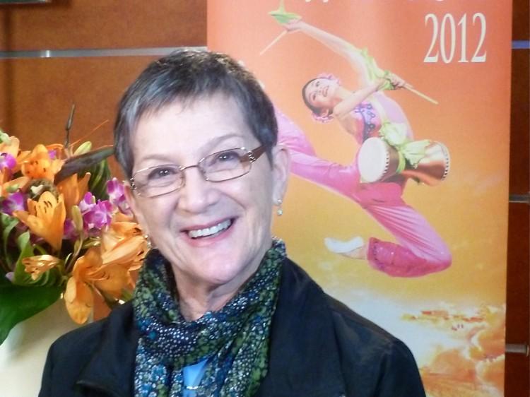 Bella Swartzberg enjoyed the Shen Yun Performing Arts' presentation