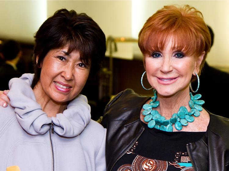 Harumi and Beverly Zeiss at Shen Yun Performing Arts in San Jose, on April 9.  (Jan Jekielek/The Epoch Times)