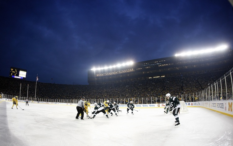 Big Chill - Michigan State v Michigan