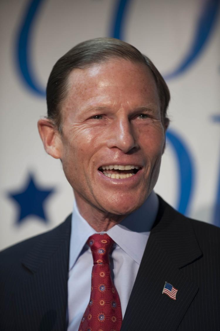 Richard Blumenthal, Connecticut Attorney General, publicly declared his past involvement in the Vietnam War in front of veterans across the country but new information from the New York Times states that Blumenthal never served in the war. (Douglas Healey/Getty Images)