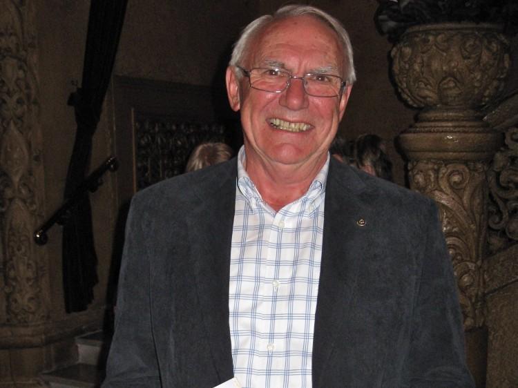 Bob Bromley, a board member of the North Balwyn Rotary Club,