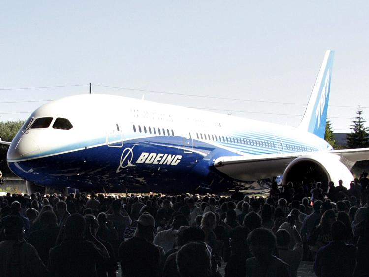 Today, Boeing has 840 orders (net of cancellations) from airlines around the world, with Japanese All Nippon Airways as its launch customer. (Tangi Quemener/AFP/Getty Images)