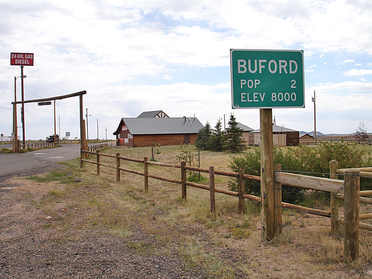 Buford Wyoming Sign
