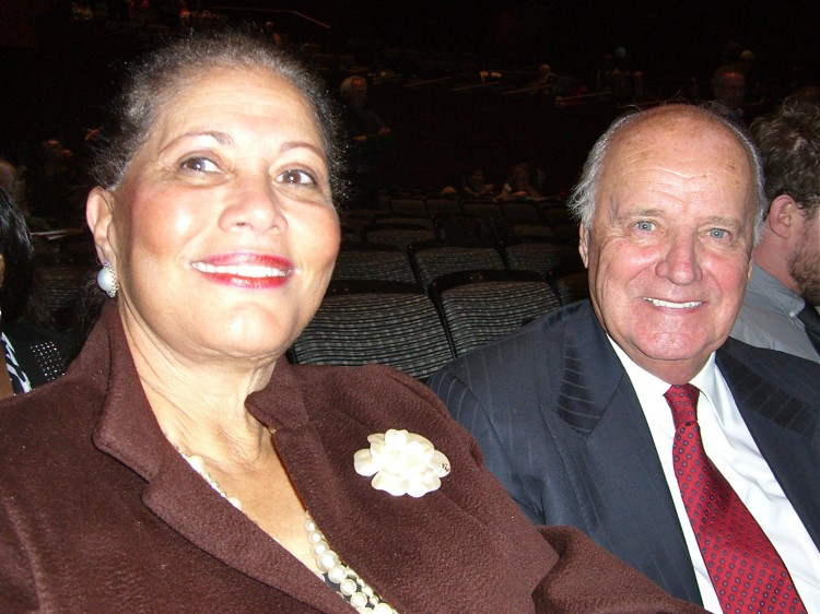 Mr. and Mrs. Balm attend Shen Yun Performing Arts