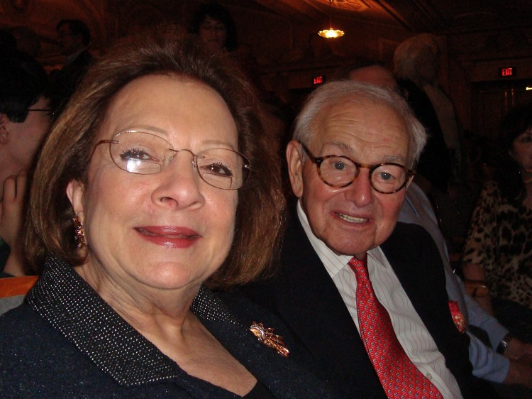 Carole Price Shanis and Joseph Shanis attend Shen Yun
