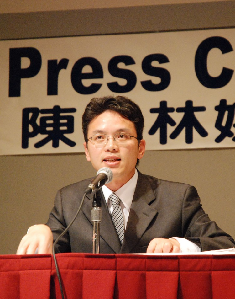 Former Chinese consulate official Chen Yonglin. (Epoch Times)