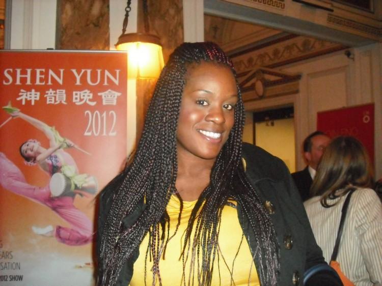 Teacher and actress Maria Adesioye