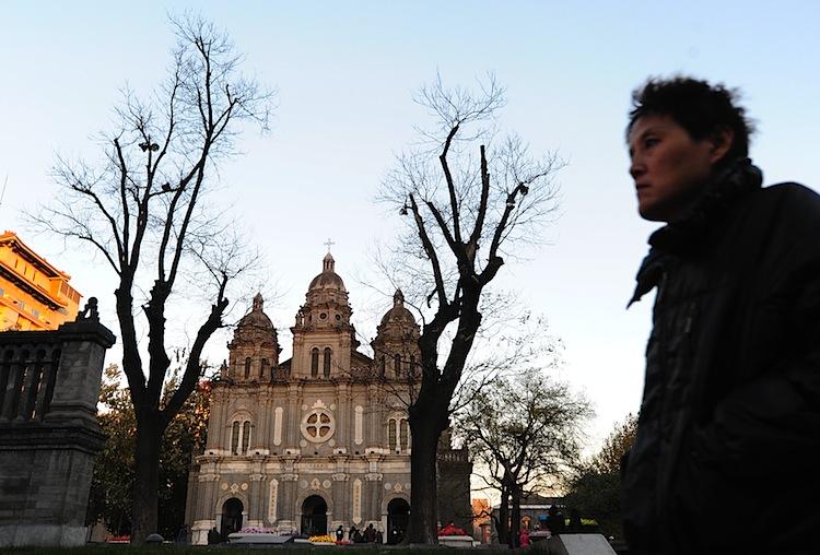 St. Joseph's Catholic Cathedral on Wangfujing in Beijing