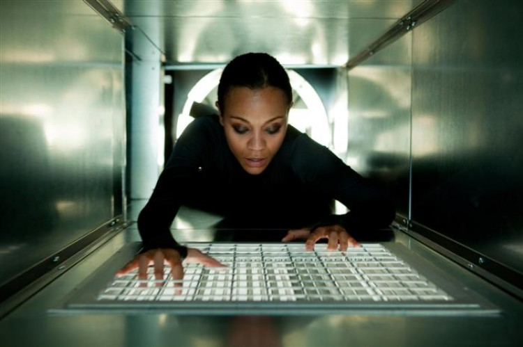 COVERT OPERATION: Zoe Saldana in a scene from the action-adventure-drama 'Colombiana.' (Sony Pictures Entertainment)